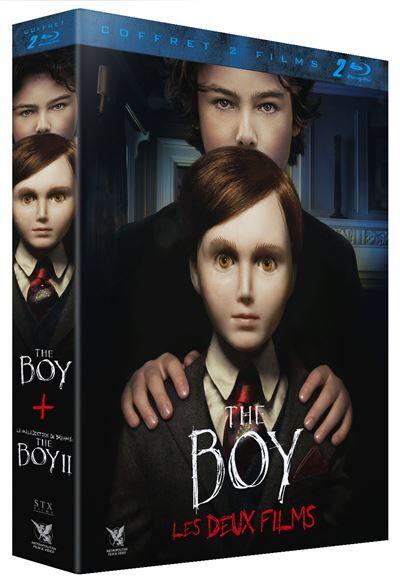 Coffret The Boy La Malédiction de Brahms : The Boy II Blu-ray - Blu-ray