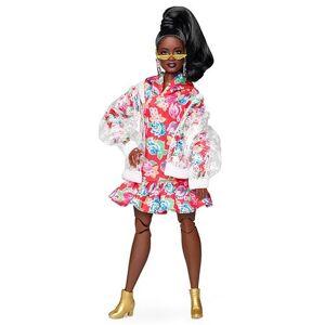 Barbie Poupée Barbie Collector adolescente BMR1959 robe à capuche à fleurs Modèle aléatoire - Poupée