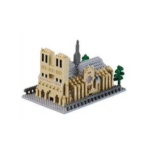 Brixies Puzzle 928 Pièces : Nano Puzzle 3D - Cathédrale Notre Dame de Paris (Level 5), Brixies - Autre jeu de construction