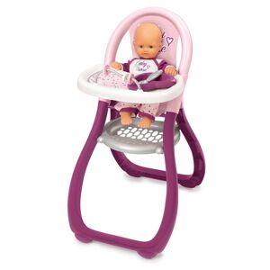 Smoby Chaise haute Baby Nurse Smoby - Accessoire poupée - Publicité