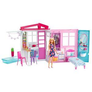 Barbie Playset Barbie Maison de poupée à emporter - Poupée - Publicité