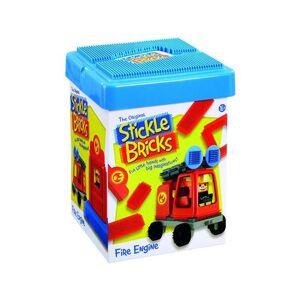 Clipo Jeu de construction Clipo Camion de pompier - Cubes - Publicité