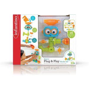Sensory Robot de bain Infantino Senso - Jouet pour le bain - Publicité
