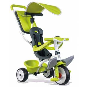 Smoby Tricycle Enfant Evolutif Baby Balade Smoby Vert - Tricycle - Publicité