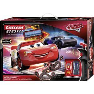 Carrera Piste de jouet électrique Disney Cars Neon Nights Carrera GO!!! - Circuit voitures - Publicité