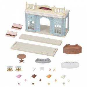 Playset Sylvanian Families Le magasin de glaces italiennes - Moyenne figurine