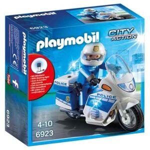Playmobil City Action 6923 Moto de policier avec gyrophare - Playmobil - Publicité