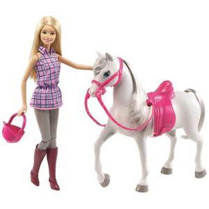 Barbie Poupée Barbie et son cheval - Poupée - Publicité