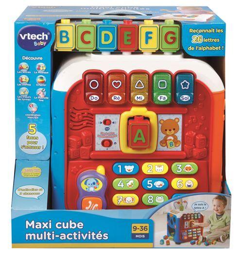 Vtech Maxi cube multi-activités Vtech - Jeu d'éveil