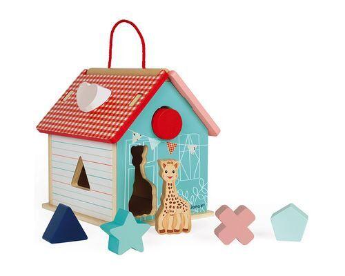 Janod Maison des formes Janod Sophie la Girafe - Encastrement en bois