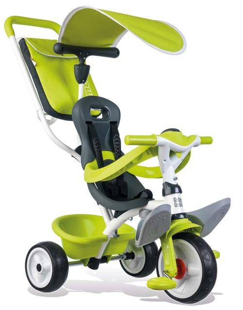 Smoby Tricycle Enfant Evolutif Baby Balade Smoby Vert - Tricycle