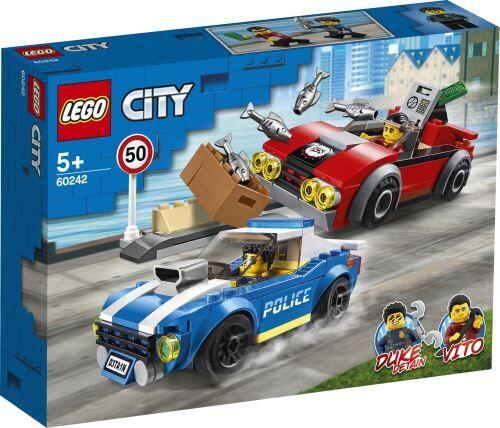 Lego City LEGO® City Police 60242 La course-poursuite sur l'autoroute - Lego