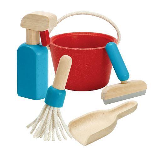 Plantoys Set d'entretien Plantoys - Ménage nettoyage