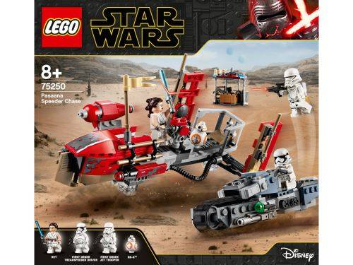 Lego Star Wars LEGO® Star Wars™ 75250 La course-poursuite en speeder sur Pasaana - Lego