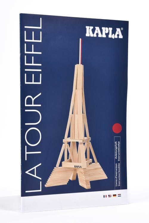 Kapla Jeu de construction en bois Kapla Tour Eiffel - Autre jeu de construction