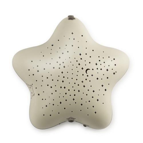 Pabobo Projecteur d'étoiles musical Pabobo Taupe Dans les bois - Veilleuse
