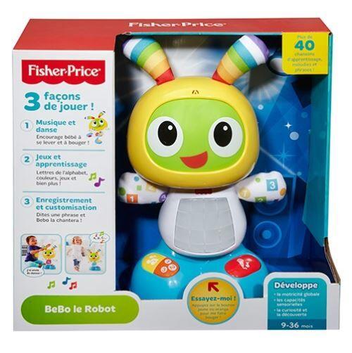 Fisher Price Robot d'apprentissage pour bébé Fisher Price BeBo le Robot - Robot