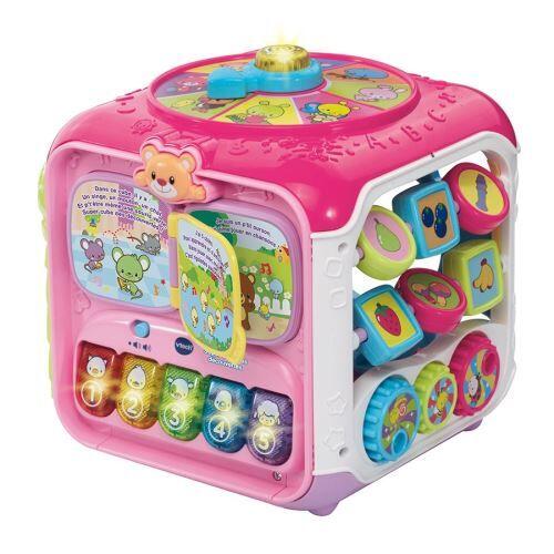 Vtech Baby Super cube de découverte Vtech Baby Rose - Jeu d'éveil