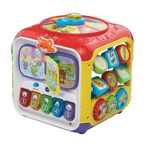 Vtech Baby Super cube des découvertes Vtech Baby - Jeu d'éveil