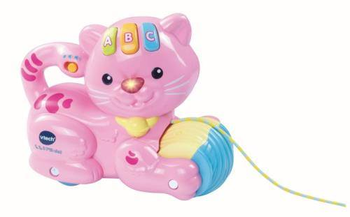 Vtech Animal Interactif Vtech 1,2,3 P'tit Chat Rose - Jouet multimédia