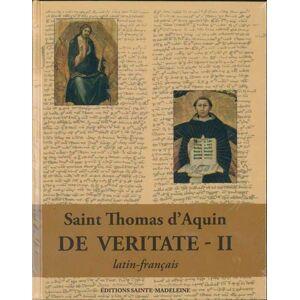Sainte-Madeleine De veritate - Publicité