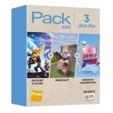 Sony Computer Pack Fnac 3 Jeux Kids PS4 Rachet & Clank + Minecraft + Singstar Celebration - PlayStation 4