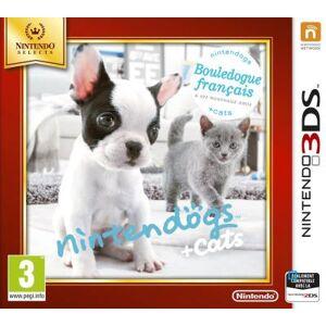 Nintendo France Nintendogs + Cats Bouledogue Français 3DS - Nintendo 3DS - Publicité