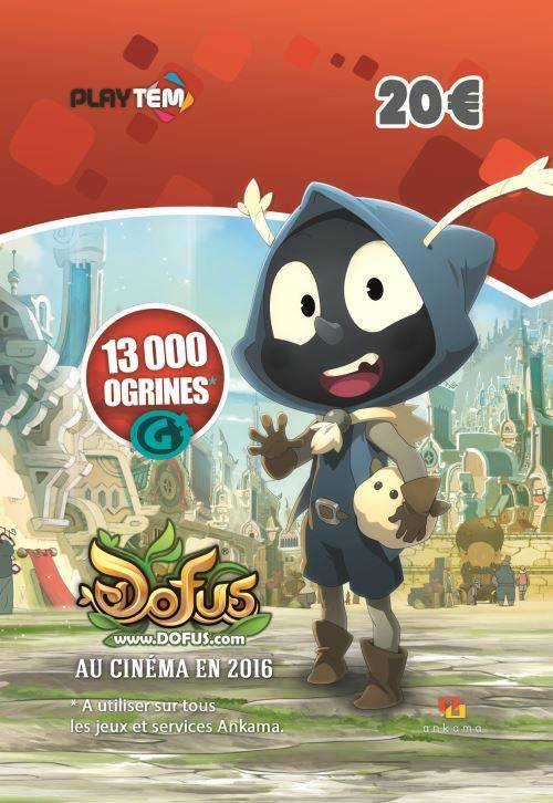 EPAY DIGITAL Code de téléchargement Dofus / Wakfu : 13000 Ogrines - Solution de jeu