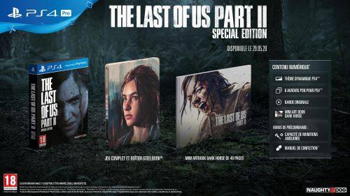 Sony Computer The Last of Us Part 2 Special Edition PS4 - PlayStation 4