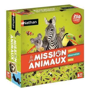 Nathan Mission Animaux - Jeu de cartes - Publicité