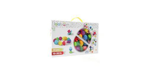 Lalaboom Boîte de 36 perles Lalaboom - Jeu d'éveil