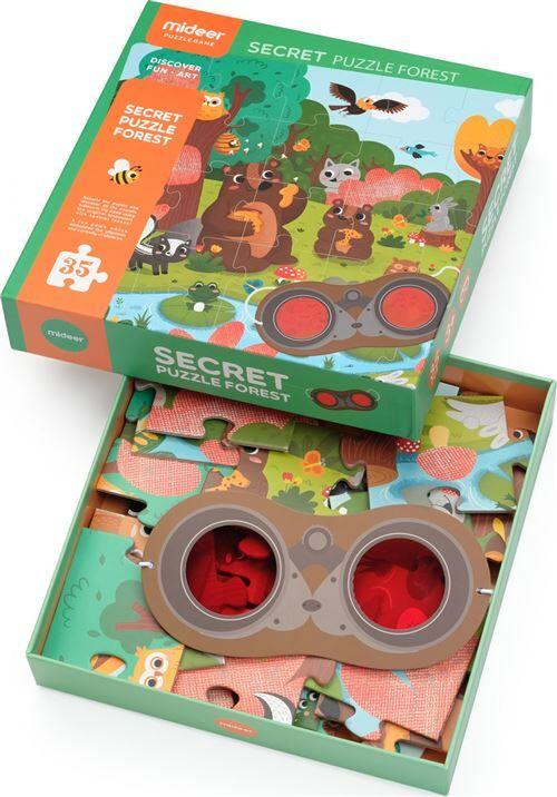 Mideer Puzzle Mideer Détective Forêt Lunettes - Puzzle enfant
