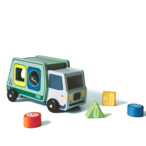 Nature et Découvertes Boîte à formes Camion de poubelle Zéro déchet - Encastrement