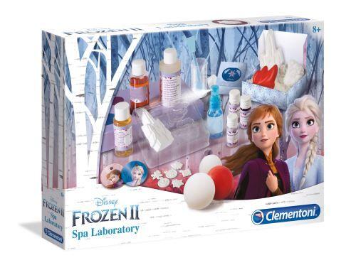 Clementoni Kit créatif Clementoni La Reine des Neiges 2 Le labo de beauté d'Elsa - Parfum, cosmétique