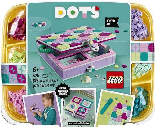 Lego Dots LEGO® DOTS 41915 La boîte à bijoux - Kit loisir créatif
