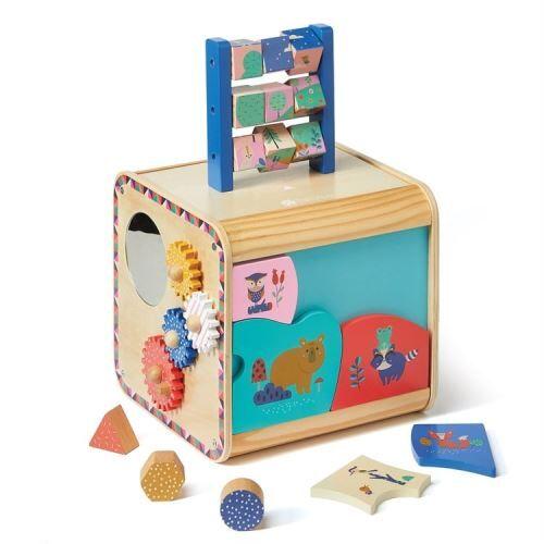 Galopins Cube d'éveil bois Galopins des bois - (donnée non spécifiée)