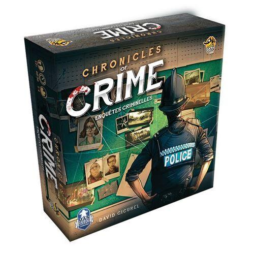 Abysse Corp Jeu d'enquête et de coopération Abysse Corp Chronicles of Crime Enquêtes Criminelles - Jeu d'ambiance