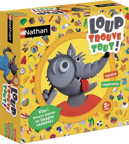 Nathan Jeu de société Nathan Loup trouve tout - (donnée non spécifiée)