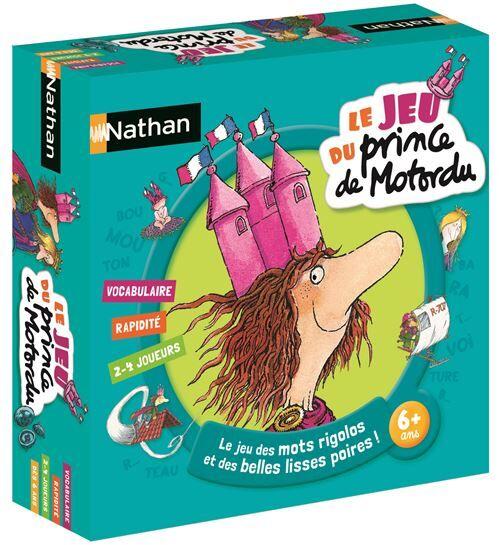 Nathan Jeu d'apprentissage Le jeu du prince de Motordu Nathan - Autre jeu de société