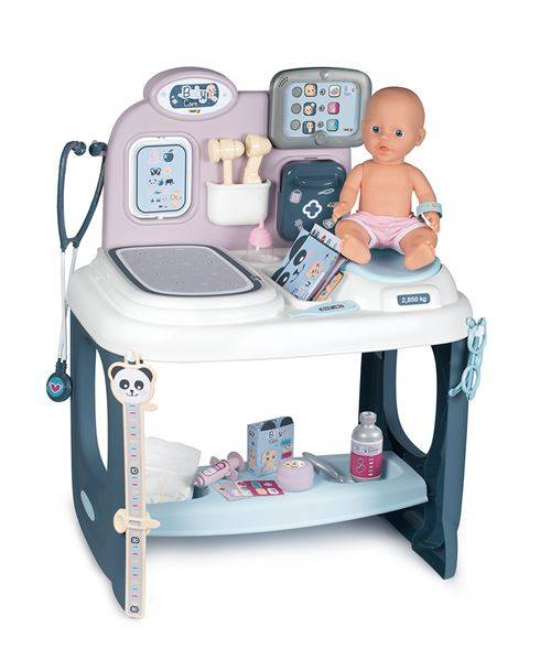 Smoby Centre de soins Smoby Baby Care - Panoplie du docteur