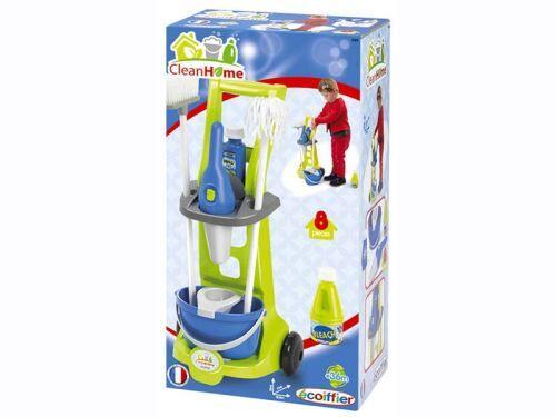 Ecoiffier Chariot ménage Ecoiffier - Ménage nettoyage
