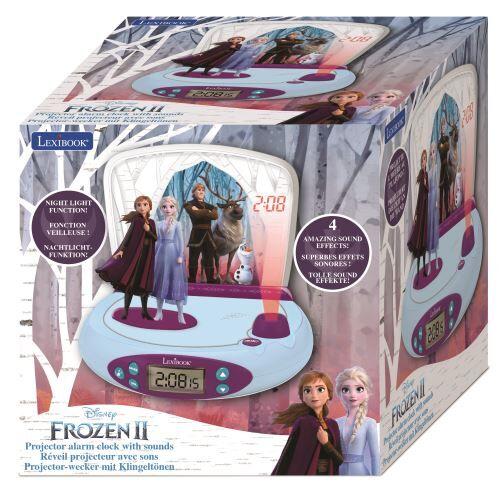 Lexibook Radio reveil Lexibook Projecteur Disney Frozen 2 - Jeu d'éveil