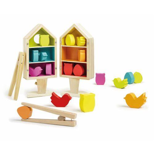 Nature et Découvertes Jeu de tri Nature et Découvertes Le Nichoir Montessori - Jouet à manipuler