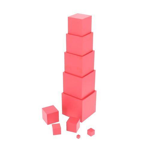 Nature et Découvertes Jouet à manipuler La Tour Rose Montessori - Jouet à manipuler