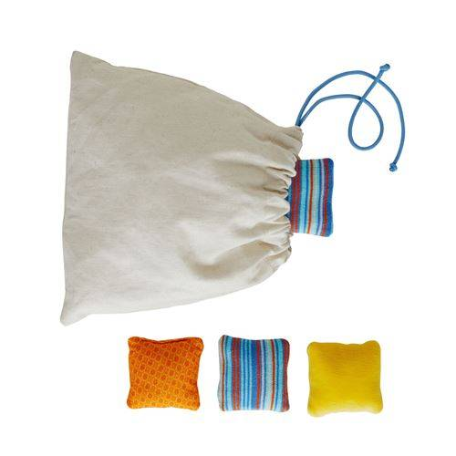 Nature et Découvertes Jeu d'éveil Coussins sensoriels en coton bio Montessori - Jeu d'éveil