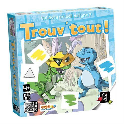Gigamic Jeu de cartes Gigamic Trouv'Tout - Jeu junior