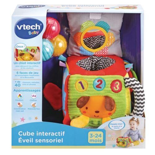 Vtech Baby Cube interactif éveil sensoriel Vtech Baby - Jeu d'éveil