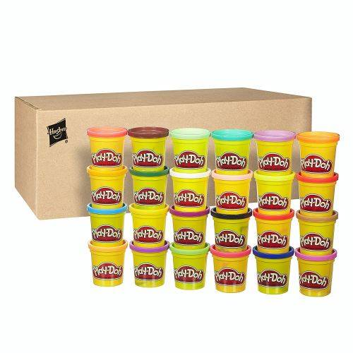 Play Doh Pack 24 pots de pâte à modeler Play-Doh - Jeu d'éveil