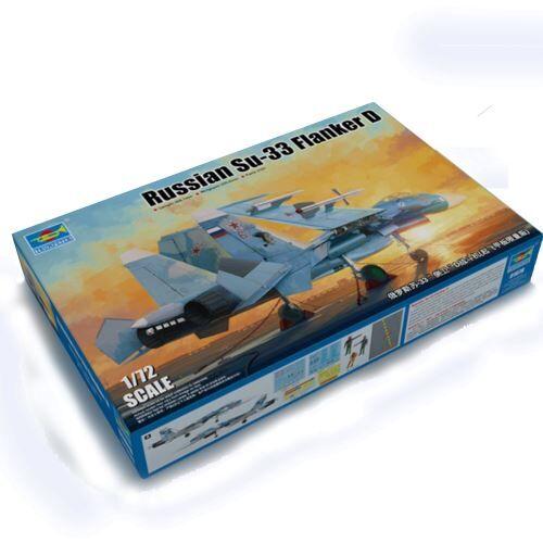 Trumpeter Maquette avion : Russian Su-33 Flanker D Trumpeter - Maquette
