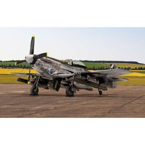 Airfix Maquette avion : north american p51-d mustang airfix - Maquette